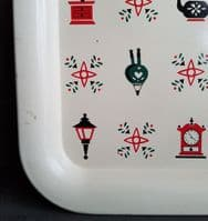 Tray with Illustrations